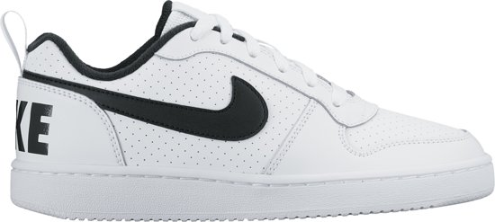 Nike Court Borough Low (GS) Sneakers Dames - White/Black - Maat 36