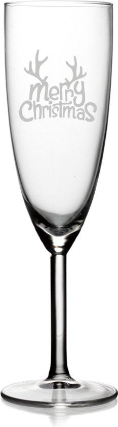 Babygoodies Champagneglas - Merry Christmas tekst