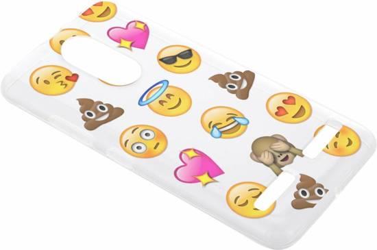 Emoji Cas Smiley Tpu Pour Lenovo K6 yweR6y7Wnd