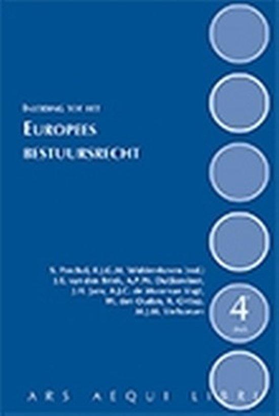 Ars Aequi Handboeken - Inleiding tot het Europees bestuursrecht - Rob Widdershoven