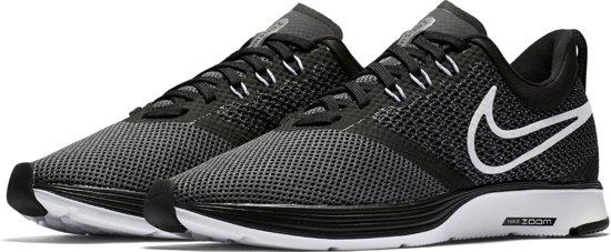 brand new ccaf3 85395 Nike Zoom Strike Hardloopschoenen Dames - BlackWhite-Dk Grey-Anthracite