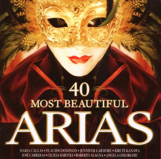 40 Most Beautiful Arias (Intl)