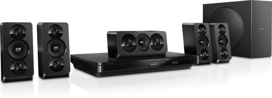 Packs enceintes Home cinema PHILIPS HTB3510 NOIR