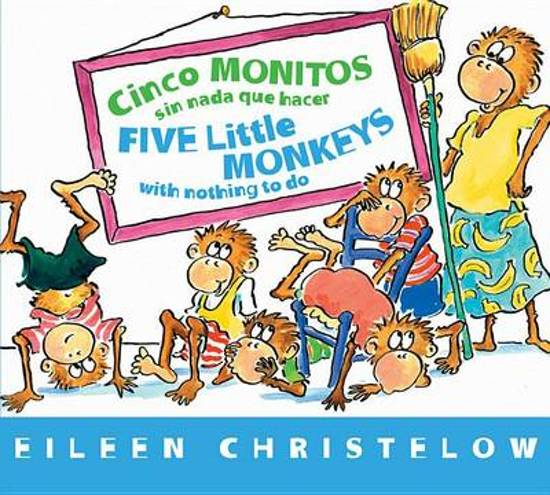 Five Little Monkeys with Nothing to Do (Spanish/English)