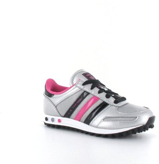 promo code c3ee6 9b177 adidas LA Trainer Kids - Sportschoenen - Kinderen - Maat 28.5 - Zilver