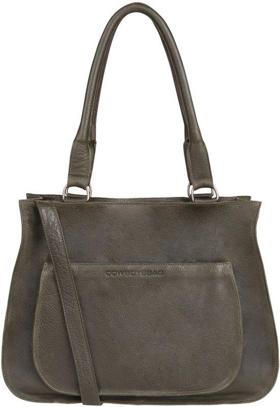 3516d8393bd bol.com | Cowboysbag Bag Quinby - Forest Green