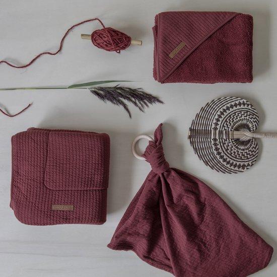 Little Dutch Aankleedkussenhoes - pure indian red