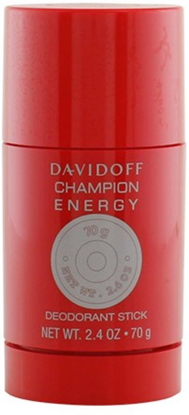Davidoff CHAMPION ENERGY - deodorant - stick 70 gr