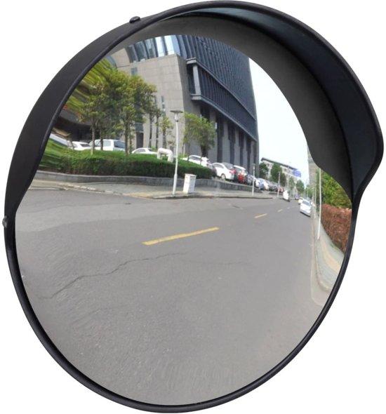 Verkeersspiegel voor buiten 30 cm (zwart)