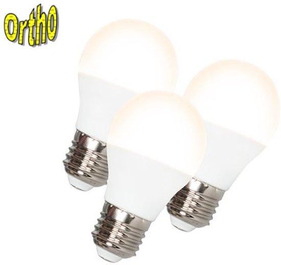 OrthoE27 3 5w 3 Stuks LED Lampen Van 9 Watt Warm Wit (vergelijkbaar