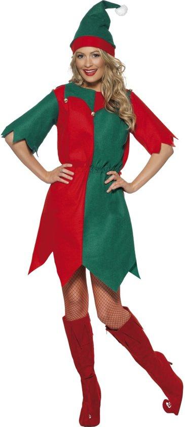 Vert Chaussures Elfe De Noël Multi Tissu ULkAQP7G