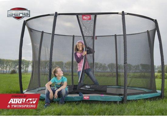 BERG Champion InGround Trampoline à 270 cm met Veiligheidsnet Deluxe