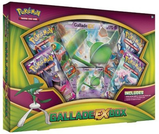 Afbeelding van het spel Pokemon Kaarten TCG - Gallade EX Box