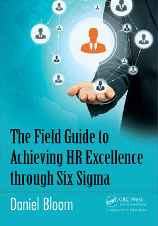 role of six sigma in hr