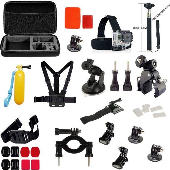 39 in 1 Gopro Accessories Kit voor GoPro Hero 4/3+/3/2/1 en Actioncam