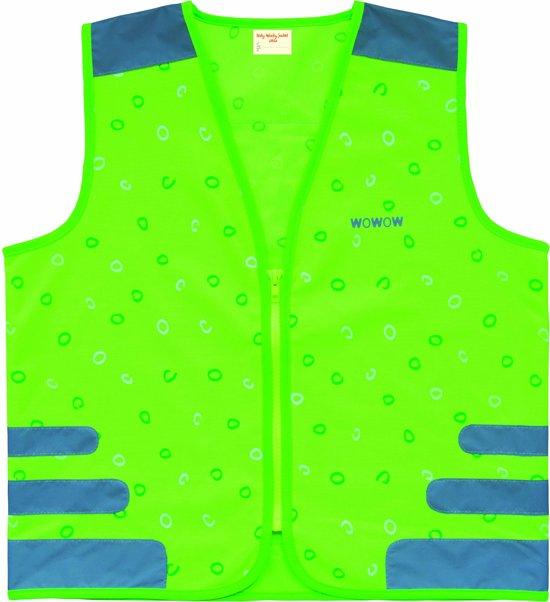 WOWOW Design Fluo hesje kind - Nuty jacket green M