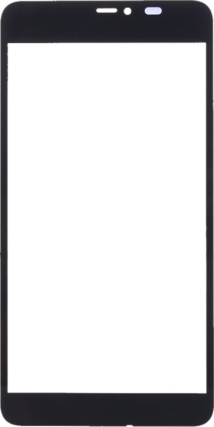 Let op type!! Front Screen Outer Glass Lens for Microsoft Lumia 640 XL(Black)