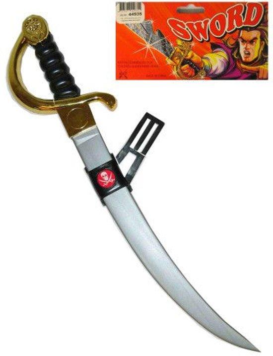 Piraten zwaard met doodshoofd