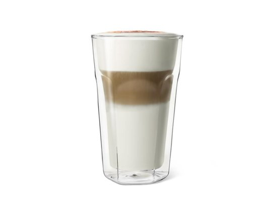 Leopold Vienna Dubbelwandig Latte Macchiato glas - 280 ml - 2 stuks