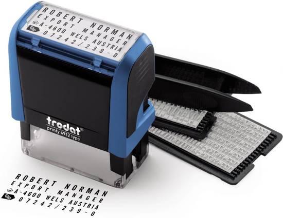 Trodat Doe-het-zelf stempel Printy Typo 4912