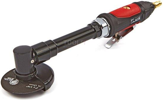 HBM Variabele Pneumatische 75 mm Haakse Slijper Met Lange Hals