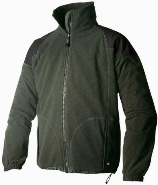 Keela Genesis Waterproof Fleece Jacket - Olive