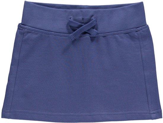447cbd54a21c61 Blue Seven Meisjes Rok Sweatstof Blauw - 72305 - Maat 128