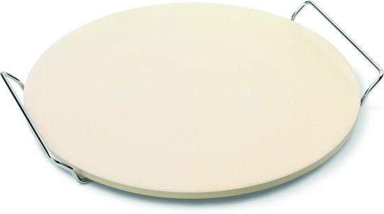 Point-Virgule Pizzasteen - Keramisch - Incl. Houder - Ø 33cm