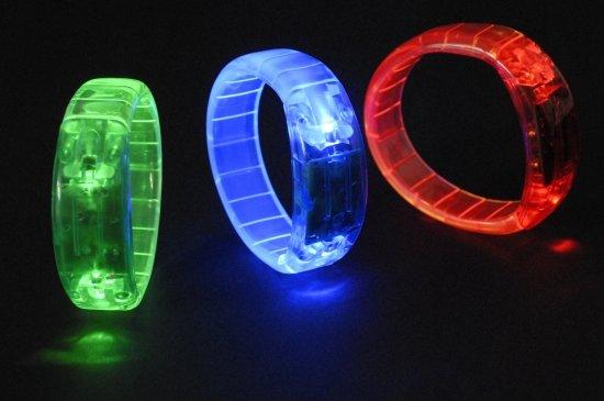 Groen Led Licht : Bol gekleurde armband met led licht groen merkloos speelgoed