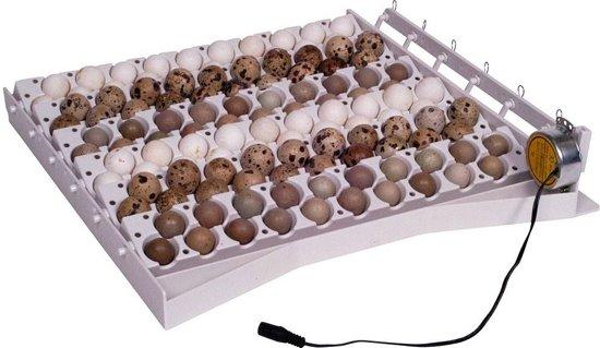 Automatisch keersysteem 42 eieren en 120 kwarteleieren