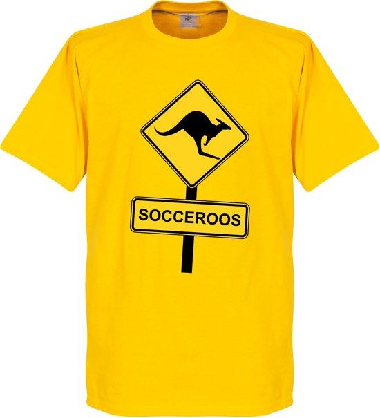 Socceroos Roadsign T-shirt - XL