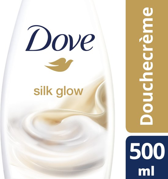 Dove Silk Glow - 500 ml - Douchecrème