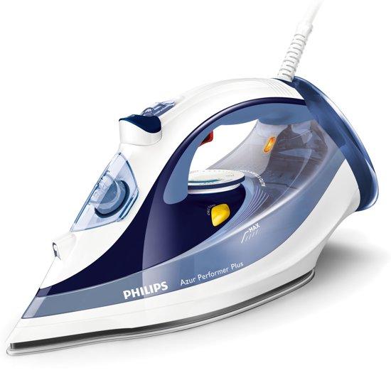 Philips Azur Performer Plus GC4516/20 - Stoomstrijkijzer - Blauw/wit