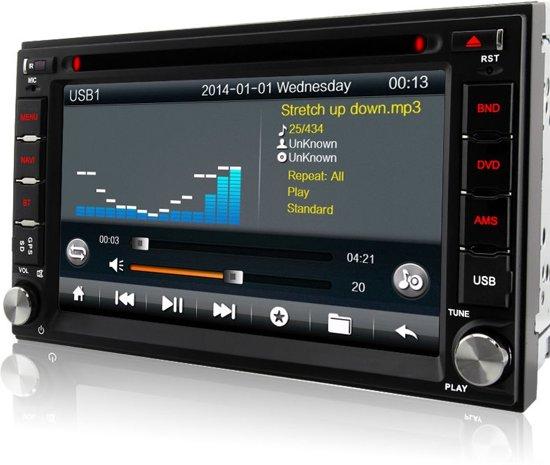 2 Din multimedia navigatie systeem 6.2 inch Wifi/3G