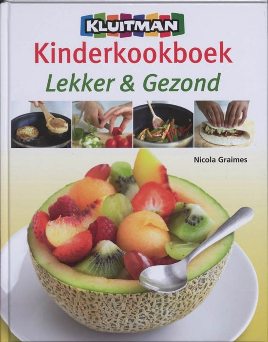 Boek cover Kluitman kinderkookboek van Nicola Graimes (Hardcover)