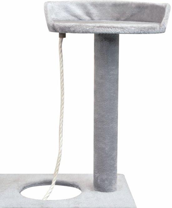 vidaXL Kattenkrabpaal met sisal krabpalen 150 cm grijs