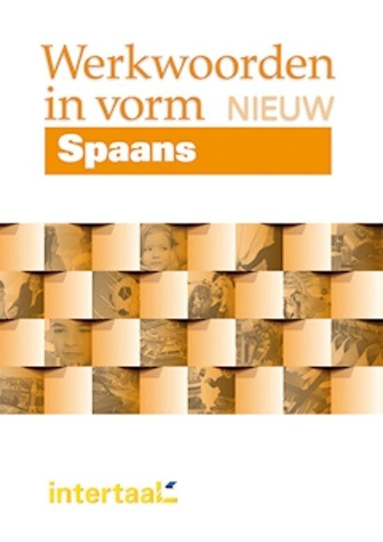 Boek cover Werkwoorden in vorm nieuw - Spaans van Pilar Perez Canizares (Paperback)
