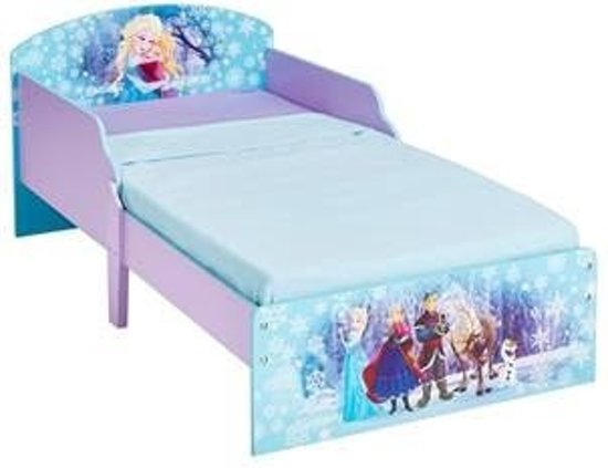 Bol.com frozen ledikant peuter bed dubbelprint met matras