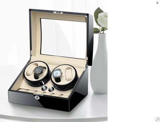 Rothenschild Horloge Winder [4 + 7 + X] Panama RS-2312-BLW