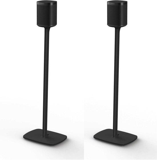 Flexson One Standaard Zwart set van 2