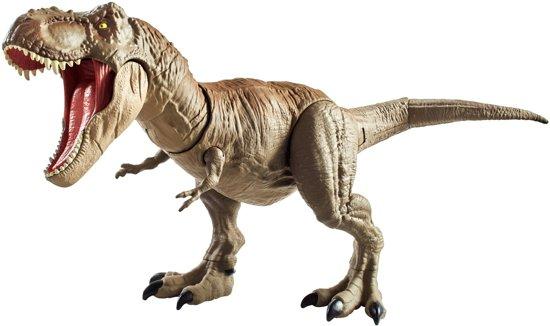Afbeelding van Jurassic World Mega Dual Attack T-Rex - Speelgoeddino speelgoed