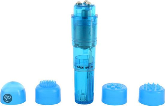 You2toys Compact Pro Massager - Blauw - Vibrator Set