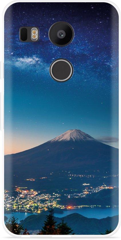 LG Nexus 5X Hoesje Sky Rocks