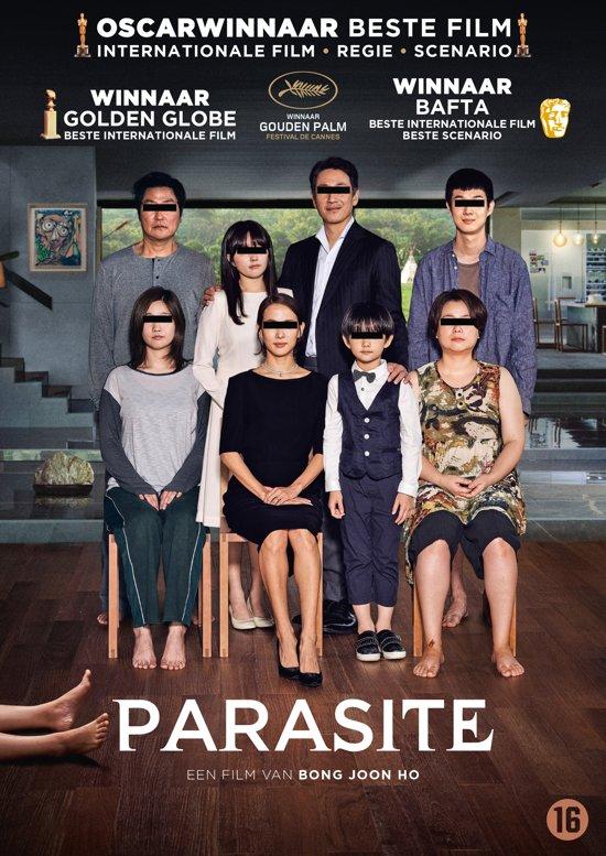 DVD cover van Parasite