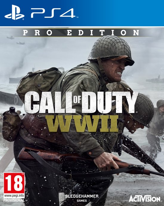 Call Of Duty: WWII Pro Edition - PS4