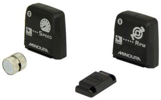 Minoura - SnelheidSensor Kit - Draadloos - Zwart