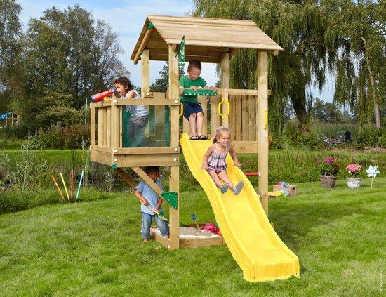 Speeltoestel Kleine Tuin : Bol.com jungle gym casa balcony houten speeltoestel met