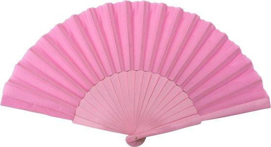 Licht Roze Jurk : Bol.com spaanse waaier flamenco xl lichtroze bij jurk