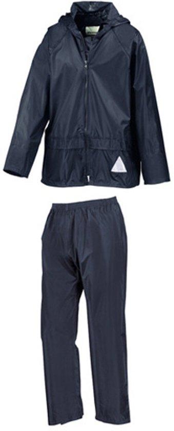Result - Regenpak - Kinderen - Maat XS - Marine