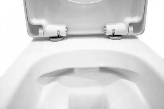 Hangend Toilet Afmetingen : Bol.com wiesbaden vesta wandcloset 52 cm zonder spoelrand